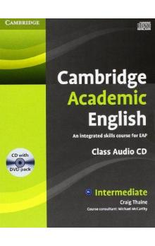 Cambridge Academic English B1+ Intermediate Class Audio CD and DVD Pack    CD