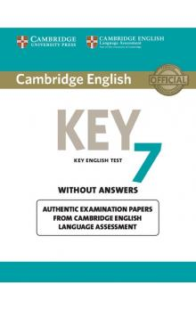 Cambridge English Key 7 Student's Book without Answers -- Roz�i�uj�c� vzd�l�vac� materi�ly