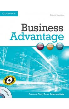 Business Advantage Intermediate Personal Study Book with Audio CD -- Učebnice