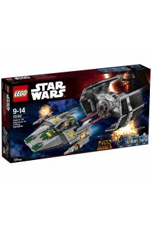 Lego Star Wars Vaders TIE Advanced vs. A-Wing Starfighter