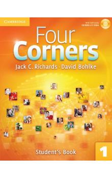 Four Corners Level 1 jStudent's Book with Self-study CD-ROM -- Učebnice