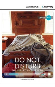 Do Not Disturb: The Importance of Sleep Book with Online Access code -- Doplňky