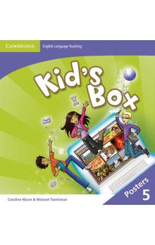 Kid's Box Level 5 Posters (8), 2E a 2E Updated -- Doplňky