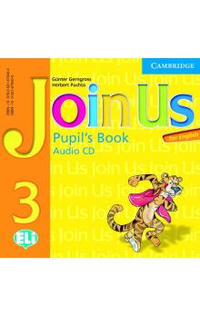 Join Us for English 3 Pupil's Book Audio CD -- CD