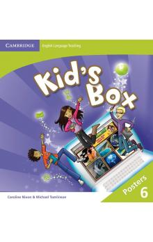 Kid's Box Level 6 Posters (8), 2E a 2E Updated -- Doplňky