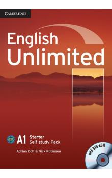 English Unlimited Starter Self-study Pack (Workbook with DVD-ROM) -- Pracovní sešit