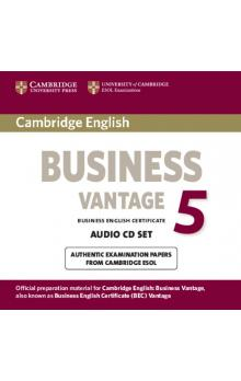 Cambridge English Business 5 Vantage Audio CDs (2) -- CD
