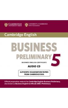Cambridge English Business 5 Preliminary Audio CD -- CD