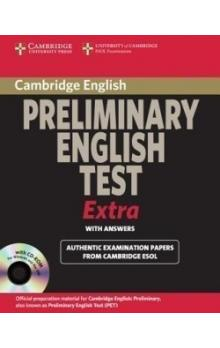 Cambridge Preliminary English Test Extra Student's Book with Answers and CD-ROM -- Učebnice