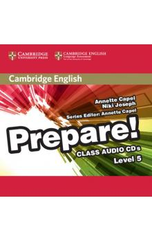 Cambridge English Prepare! Level 5 Class Audio CDs (2) -- CD