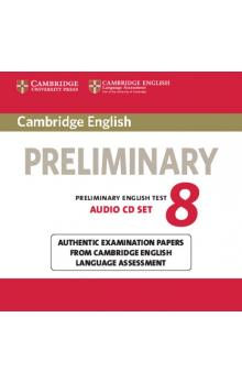 Cambridge English Preliminary 8 Audio CDs (2) -- CD