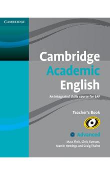 Cambridge Academic English C1 Advanced Teacher's Book -- Příručka učitele