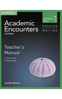 Academic Encounters Level 1 Teacher's Manual Reading and Writing -- Příručka učitele