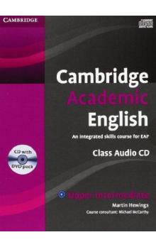 Cambridge Academic English B2 Upper Intermediate Class Audio CD and DVD Pack -- CD