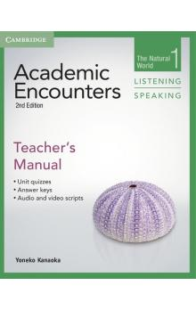 Academic Encounters Level 1 Teacher's Manual Listening and Speaking -- Příručka učitele