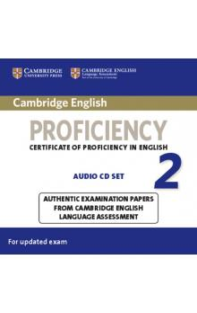 Cambridge English Proficiency 2 Audio CDs (2) -- CD