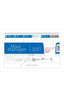 Kalend�� stoln� 2017 - Maximanager modr�