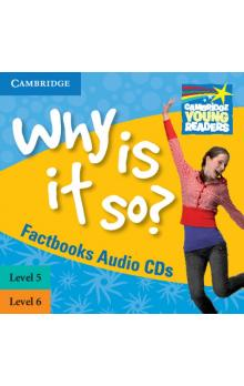 Why Is It So? Levels 5-6 Factbook Audio CDs (2) -- Doplňky