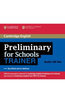 Preliminary for Schools Trainer Audio CDs (3) -- CD