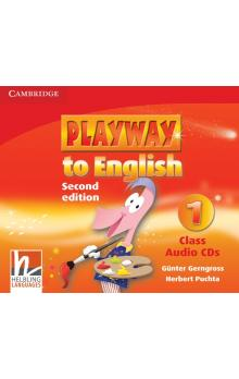 Playway to English Level 1 Class Audio CDs (3) -- CD