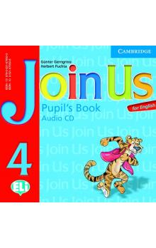 FRAUS Gerngross Gunter, Puchta Herbert - Join Us for English 4 Pupil's Book Audio CD -- CD