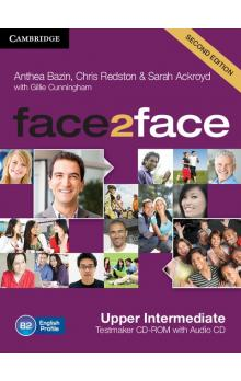 face2face Upper intermediate Testmaker CD-ROM and Audio CD -- CD