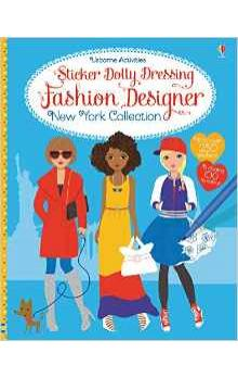 Sticker Dolly Dressing Fashion Designer New York Collection - Watt Fiona