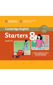Cambridge English Young Learners 8 Starters Audio CD -- CD