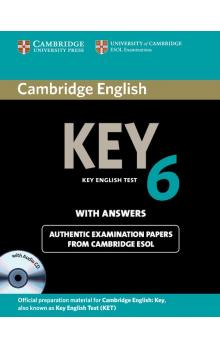 Cambridge English Key 6 Self-study Pack (Student's Book with Answers and Audio CD) -- Roz�i�uj�c� vzd�l�vac� materi�ly