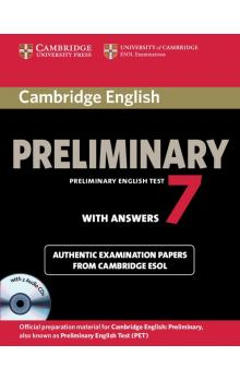 Cambridge English Preliminary 7 Student's Book Pack (Student's Book with Answers and Audio CDs (2)) -- Roz�i�uj�c� vzd�l�vac� materi�ly