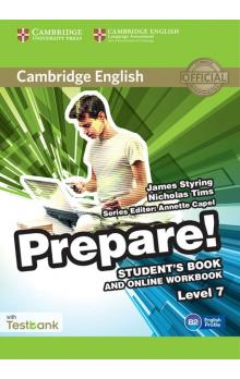 Cambridge English Prepare! Level 7 Student's Book and Online Workbook with Testbank -- Učebnice