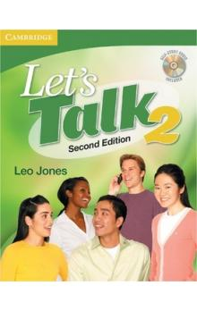 Let's Talk Level 2 Student's Book with Self-study Audio CD -- Učebnice