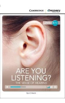 Are You Listening? The Sense of Hearing Book with Online Access code -- Dopl�ky
