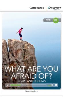 What Are You Afraid Of? Fears and Phobias Book with Online Access code -- Doplňky