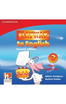 Playway to English Level 2 Class Audio CDs (3) -- CD