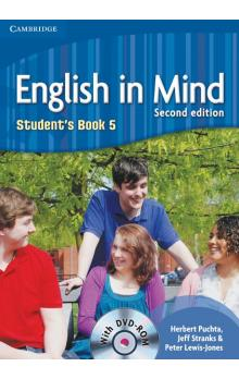 English in Mind Level 5 Student's Book with DVD-ROM -- Učebnice