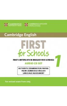 Cambridge English First for Schools 1 for Revised Exam from 2015 Audio CDs (2)    CD