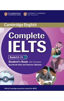 Complete IELTS Bands 6.5-7.5 Student's Book with Answers with CD-ROM -- U�ebnice