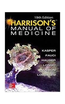 Harrison´s Manual of Medicine, 19th Ed.ISE