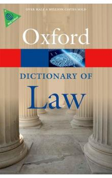 Oxford Dictionary of Law 8th Edition Reissue (Oxford