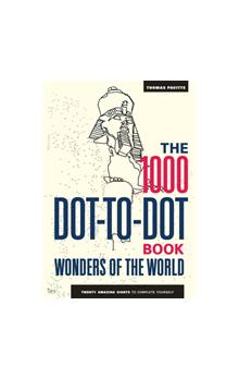 The 1000 Dot-to-Dot Book: Wonders of the World (Colouring