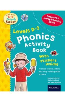Stages 2-3 Read With Bif, Chip and Kipper Phonics Activity