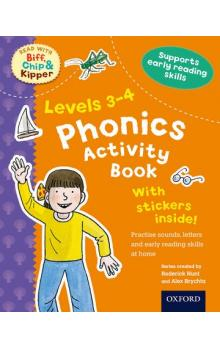 Stages 3-4 Read With Bif, Chip and Kipper Phonics Activity