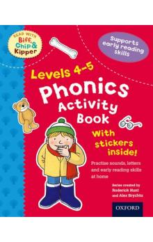 Stages 4-5 Read With Bif, Chip and Kipper Phonics Activity