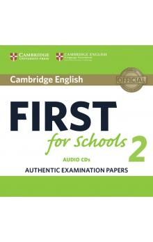 Cambridge English First for Schools 2 Audio CDs /2/ -- CD