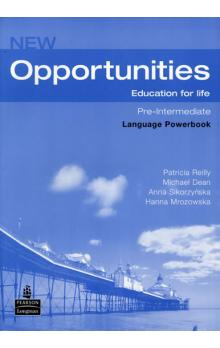 New Opportunities Global Pre-Int Language Powerbook Pack