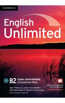 English Unlimited Upper Intermediate Coursebook with e-Portfolio and Online Workbook -- Učebnice