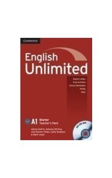 English Unlimited Starter Teacher's Pack (Teacher's Book with DVD-ROM) -- Příručka učitele