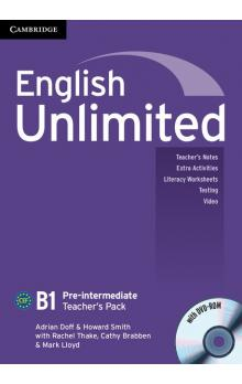 English Unlimited Pre-intermediate Teacher's Pack (Teacher's Book with DVD-ROM) -- Příručka učitele