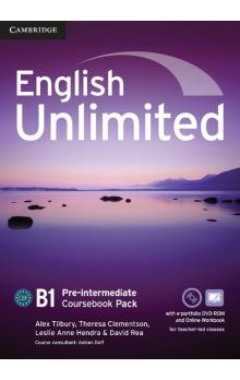 English Unlimited Pre-intermediate Coursebook with e-Portfolio and Online Workbook -- Učebnice